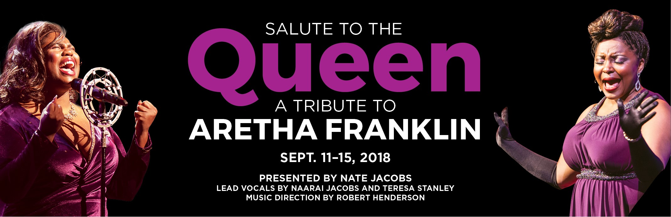 Salute to the Queen: A Tribute to Aretha Franklin