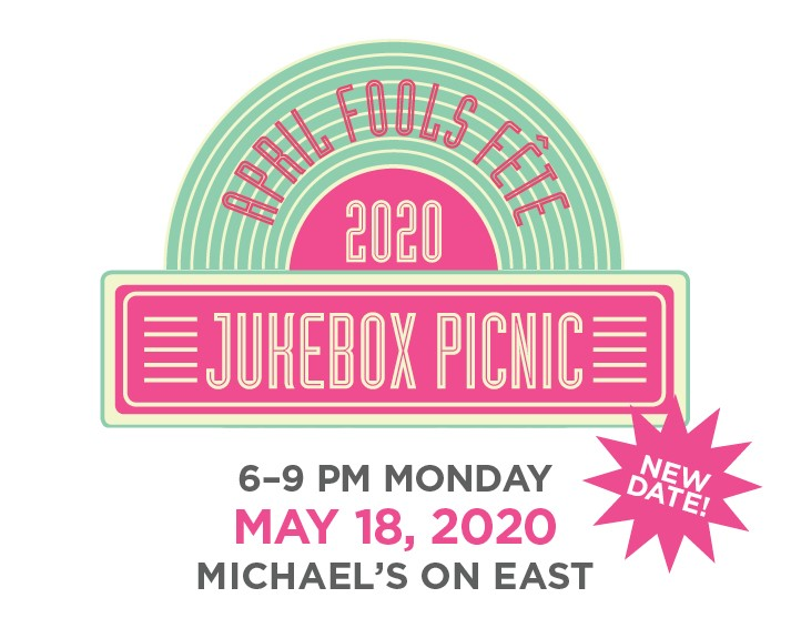 April Fool's Fete 2020 Jukebox Picnic, Benefitting WBTT Education Programs, 6pm, Monday, May 18, 2020, Micheal's on East
