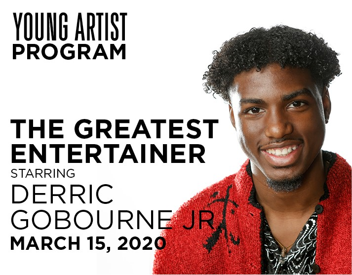 Derric Gobourne Jr Young Artist Event March 15. 2020