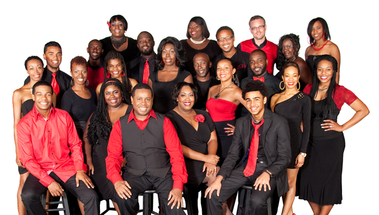 Nate Jacobs and the rest of the Westcoast Black Theatre Troupe
