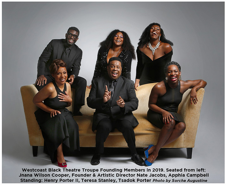 Westcoast Black Theatre Troupe founding members